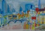 View from Millennium bridge. London