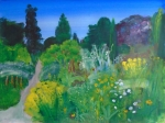 University of Cambridge Botanic Garden 3  74cmx55cm