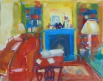 Evening interior, Cambs. 55cmx42cm