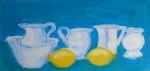 Still life with lemons.